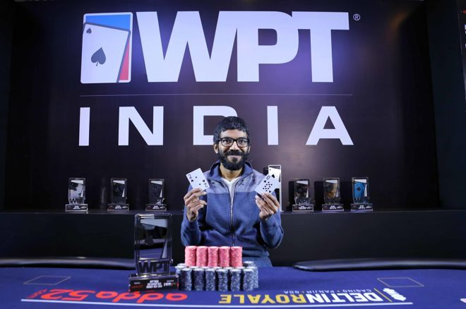 Aditya Sushant Ships WPT 2018 Kickoff event for ₹935,000
