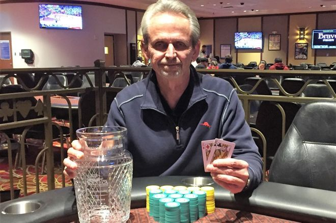 Victor Adams wins the Seneca Fall Poker Classic 2018 Main Event