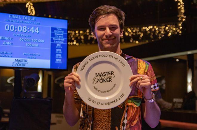 2018 MCOP (7) - Tom Vogelsang wint €1.500 Single Re-Entry, Brummelhuis & Veldhuis naar Dag 2 in Main Event