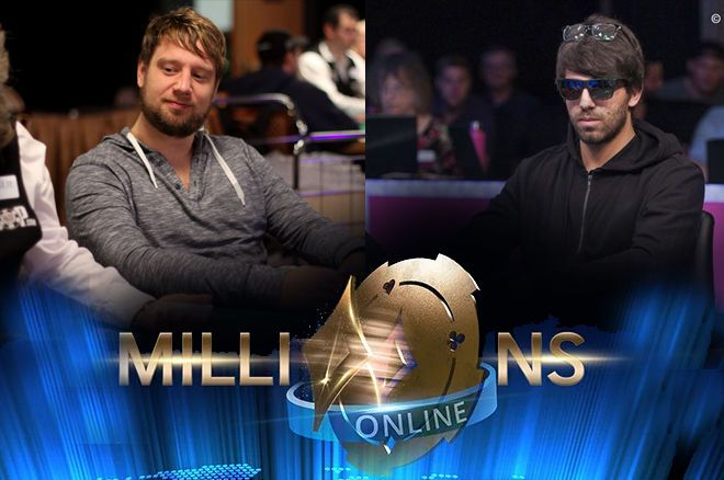 Ruivo and De Goede Chop partypoker MILLIONS Online for $2,3 Million Each