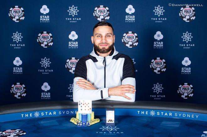 Huss Hassan, winner of the 2018 WSOP Circuit Sydney $1,320 No-Limit Hold'em Six-Max
