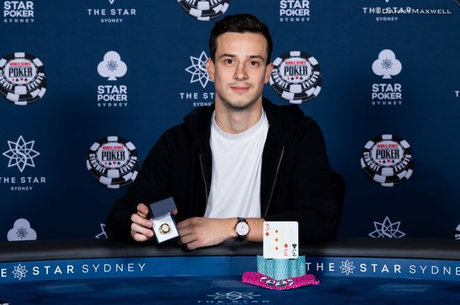 Alex Lynskey Wins the WSOPC Sydney $2,200 Main Event for $422,796! 0001