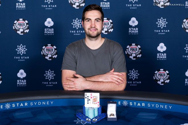 Andrew White Closes Out the $1,150 Monster Stack for $103,359