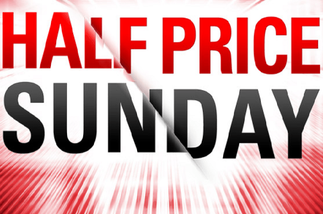 Half Price Sunday - PokerStars