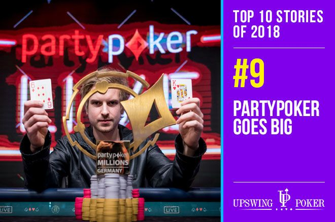 Top 10 Stories of 2018, #9: partypoker Breaks Records Live and Online