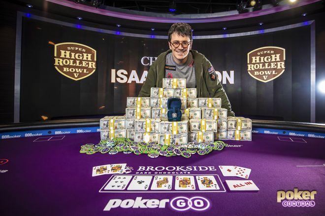 SHRB Las Vegas : Isaac Haxton empoche 3,6 millions 0001