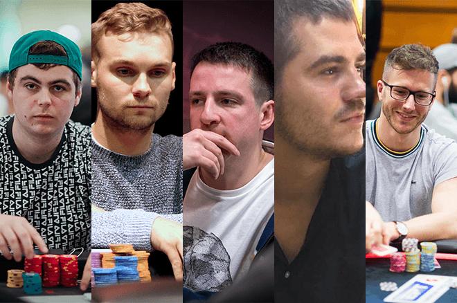 Sven McDermott, Ronan Sweeney, Daniel Charlton, Patrick Brooks and Jonathan Proudfoot