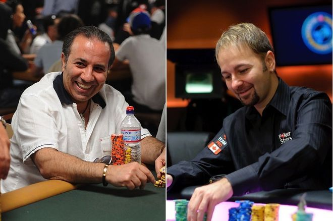 Sam Farha and Daniel Negreanu