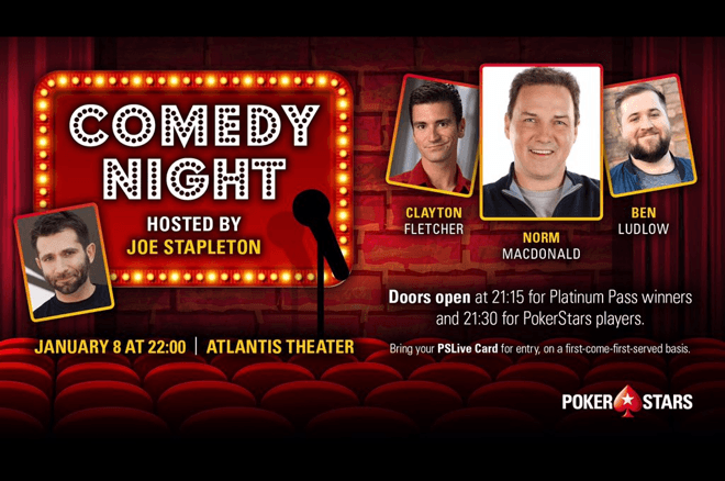 PCA comedy night with Norm Macdonald