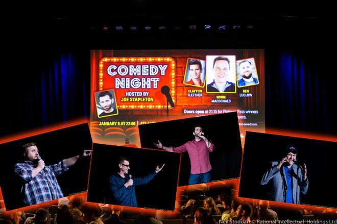 PokerStars' Comedy Night at the PCA a Resounding Success