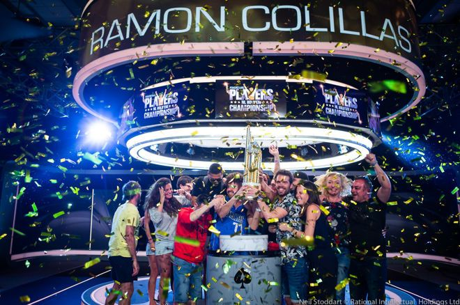 Ramon Colillas wint het PokerStars No-Limit Hold'em Players Championship voor $5,1 miljoen!