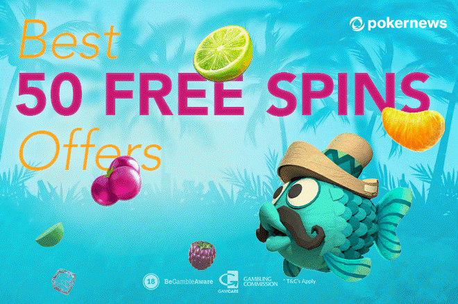 50 Free Spins When You Add Your Bank Card Pokernews