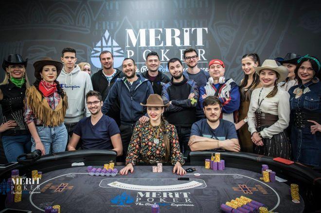 Иван Жечев и Борис Колев на финалната маса на Merit Poker High Roller