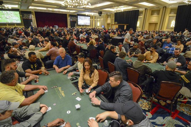 The Beau Rivage tournament Floor
