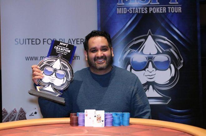 Sean Munjal Wins Largest Major Poker Tournament in Cleveland