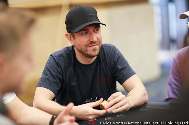 Poker star Andrew Neeme helped guide a follower on a decision that had a happy ending.