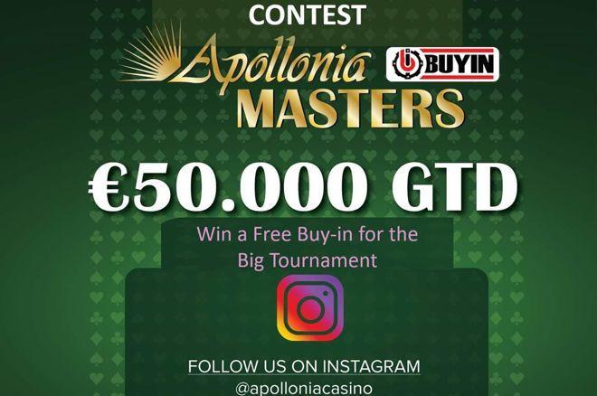 d8c819d65cb Apollonia: Freeroll-satellite με δύο θέσεις για το Masters και διαγωνισμός  στο Instagram 0001