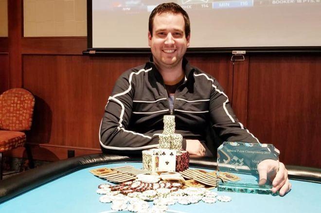 PokerNews Reporter Adam Lamers Wins Big 0001