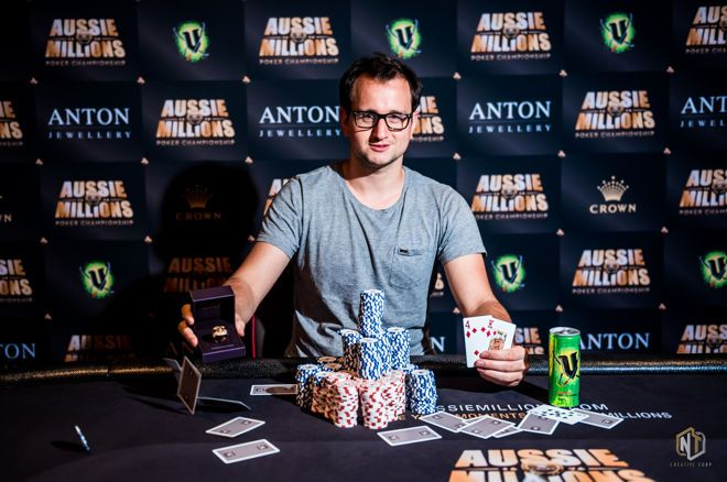 Rainer Kempe won another high roller, his second in about two weeks.