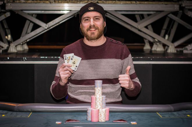 "David ""Esmone"" Abreu Campeão do Main Event do Solverde Poker Season"