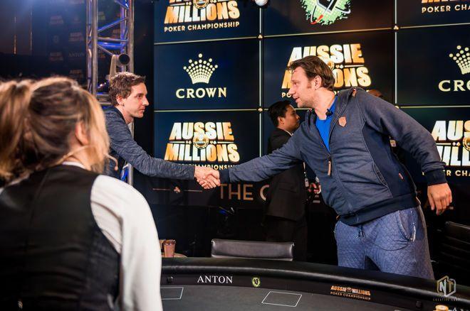 2019 Aussie Millions - De Goede uitgeschakeld op plaats negentien, Mike Del Vecchio bij laatste zeven
