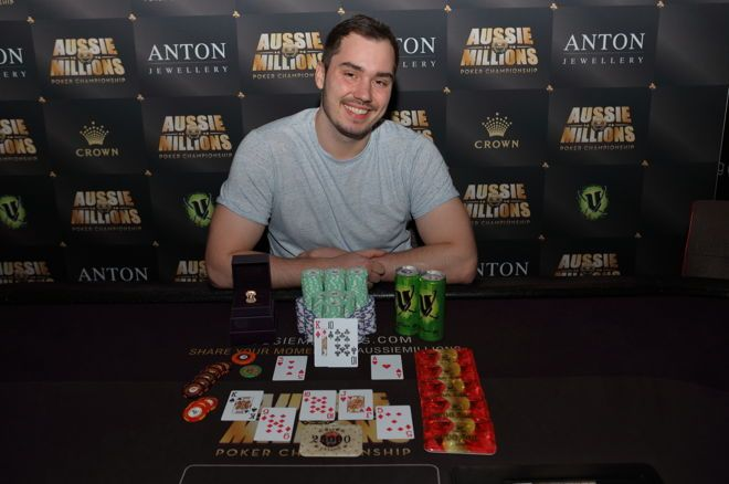 Anton Morgenstern Wins the AU$25,000 Pot Limit Omaha