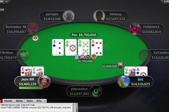 Brasil na Mesa Final do Sunday Million do PokerStars