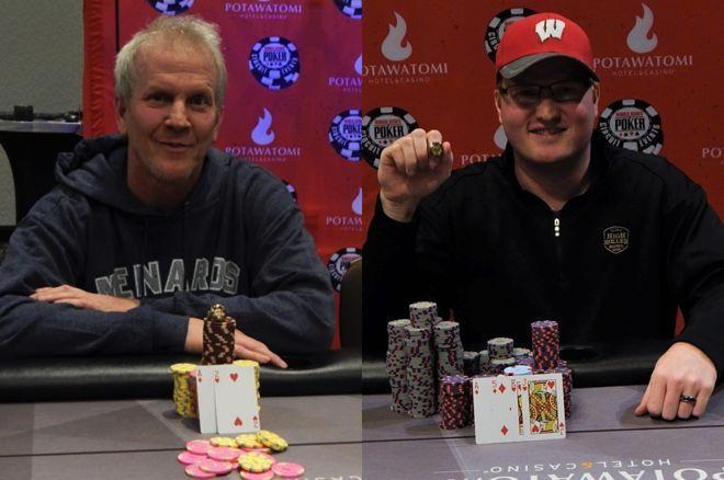 Brett & Josh Reichard both won rings at WSOP Circuit Potawatomi