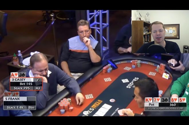 Jonathan Little's Weekly Poker Hand: Call or Fold With a Flush?
