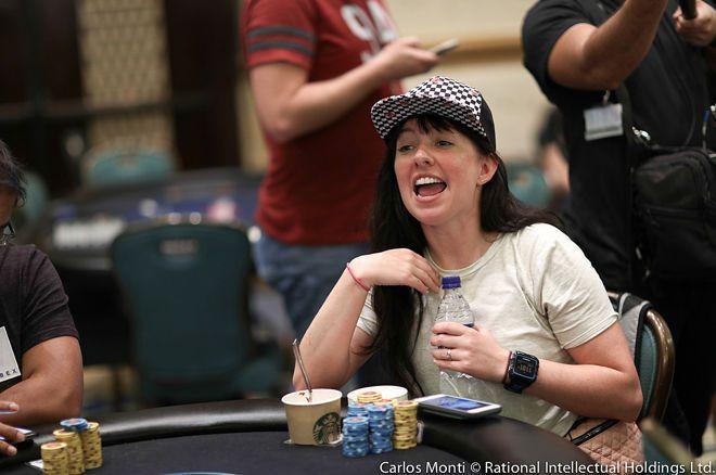 High-Five avec Kanit, deep-run PSPC et WSOP... Jacqueline Burkhart aime le poker 0001
