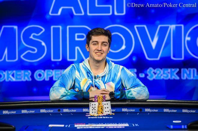 Poker Masters Champ Ali Imsirovic Wins US Poker Open $25,000 Event for $442,500