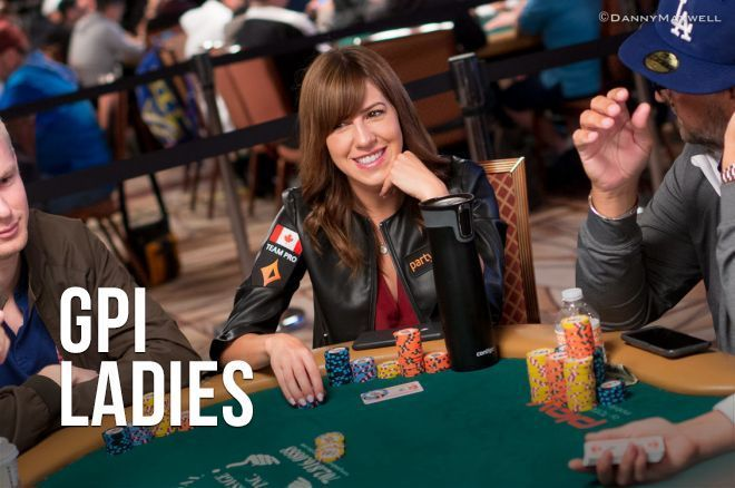 Kristen Bicknell continues to lead the ladies GPI rankings.