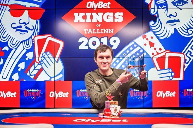 Vitalijs Zavorotnijs Wins the 2019 OlyBet Kings of Tallinn Main Event for €85,300
