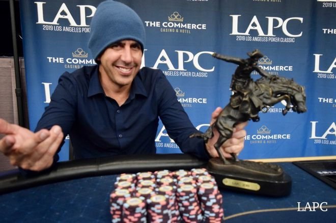 Josh Prager banked over $200K at the LAPC.