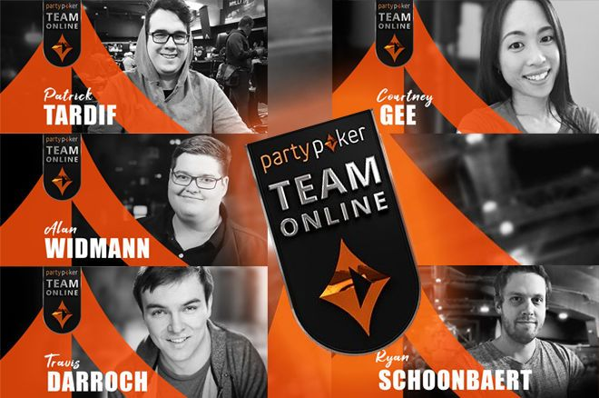 partypoker adds five streamers to their Team Online.