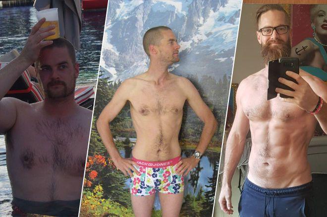 Steven van Zadelhoff is peaking in physique and body image.