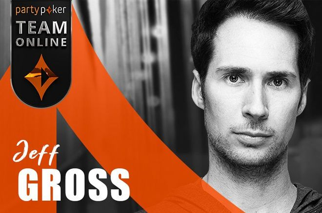 Jeff Gross is the latest pro to sign on with partypoker Team Online.