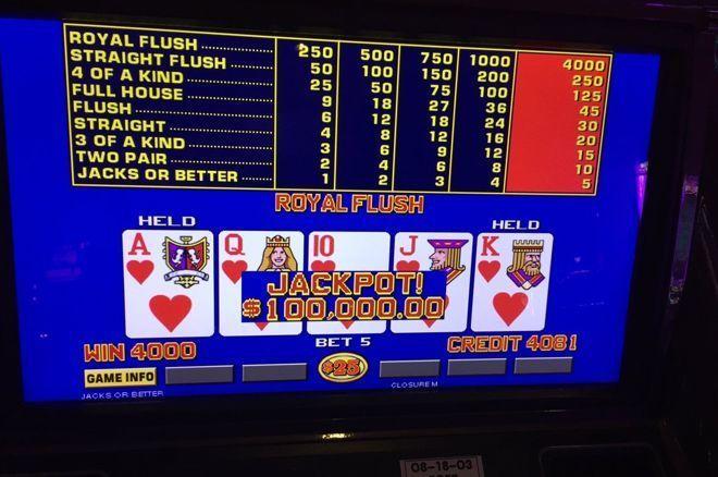 Poker Pro Acerta Sexto Royal Flush nas Máquinas de Vídeo Poker