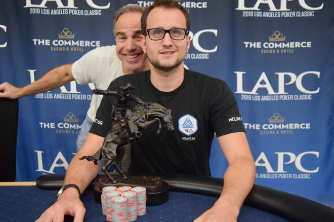 Rainer Kempe won the first $25K High Roller at this year's L.A. Poker Classic.