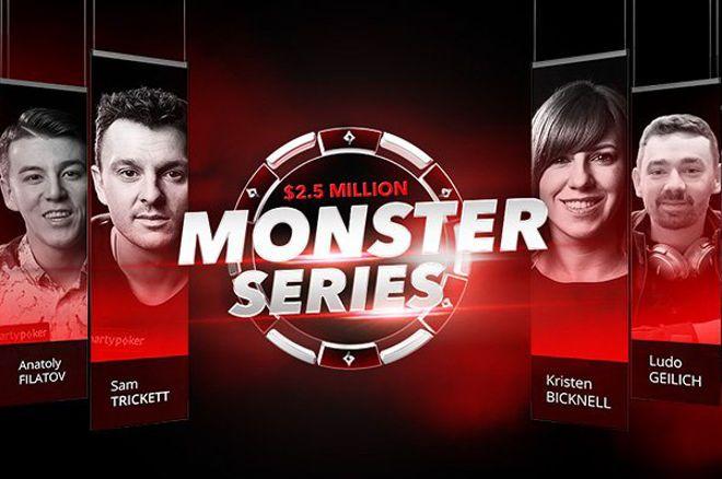 Monster Series do partypoker - $2,5 Milhões Garantidos