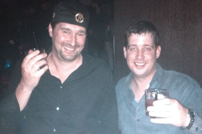 """Mike """"Wisco"""" Murray with Phil Hellmuth"""
