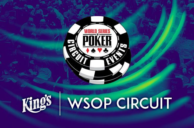 The WSOP International Circuit is stopping at King's Casino once again.