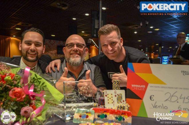 Arie Groen wint grootste pokertoernooi (€100K Gtd Venlo) ooit gehouden in Nederland voor €24.000
