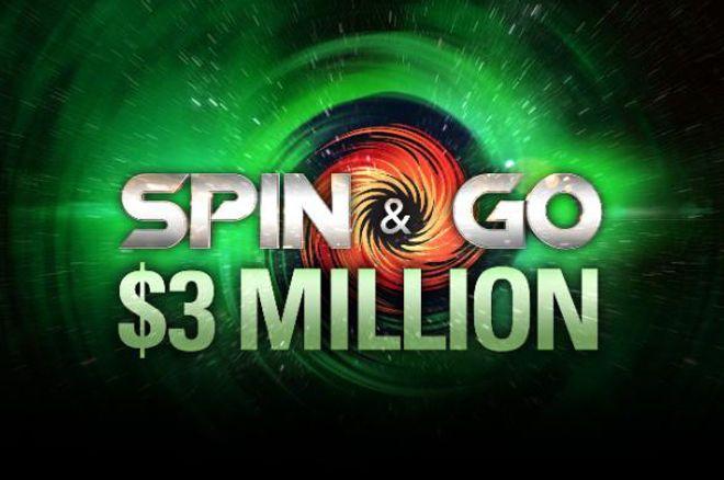 PokerStars Anuncia Spin & Go's com Premiação de $3 Milhões