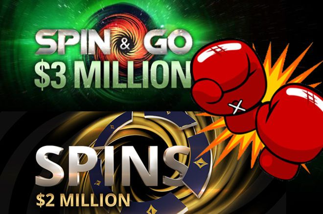 Guerra de Spins entre as Duas Gigantes do Poker Online