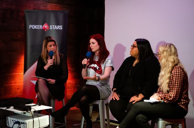 PokerStars hosted a forum and panel to showcase their film 'Raising the Stakes - The Women of Poker.'