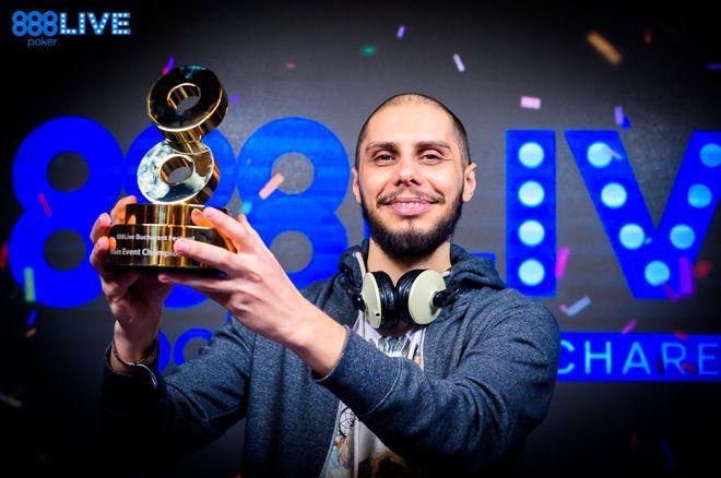 Darius Neagoe Wins 2019 888poker LIVE Bucharest Main Event
