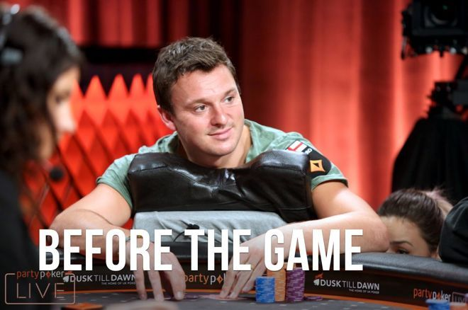 Sam Trickett shares about his upbringing in Before the Game.