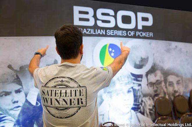 Mega Satélite com 15 Pacotes Garantidos para o BSOP São Paulo