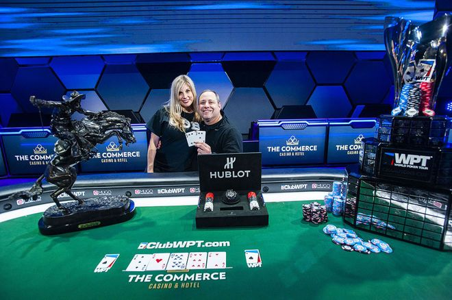 "David ""ODB"" Baker notched his biggest score by taking down the WPT LAPC Main Event."